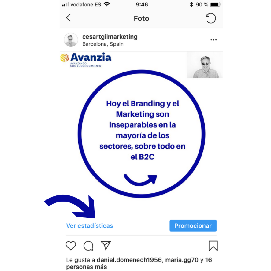 APRENDE POST DE INSTAGRAM ESTADÍSTICAS